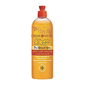 Creme Of Nature With Argan Oil Apple Cider Vinegar Clarifying Rinse 15.5 oz