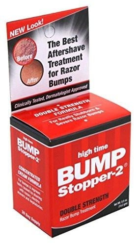 High Time Bump Stopper 2- Razor Bump Treatment Double Strength 0.5 oz