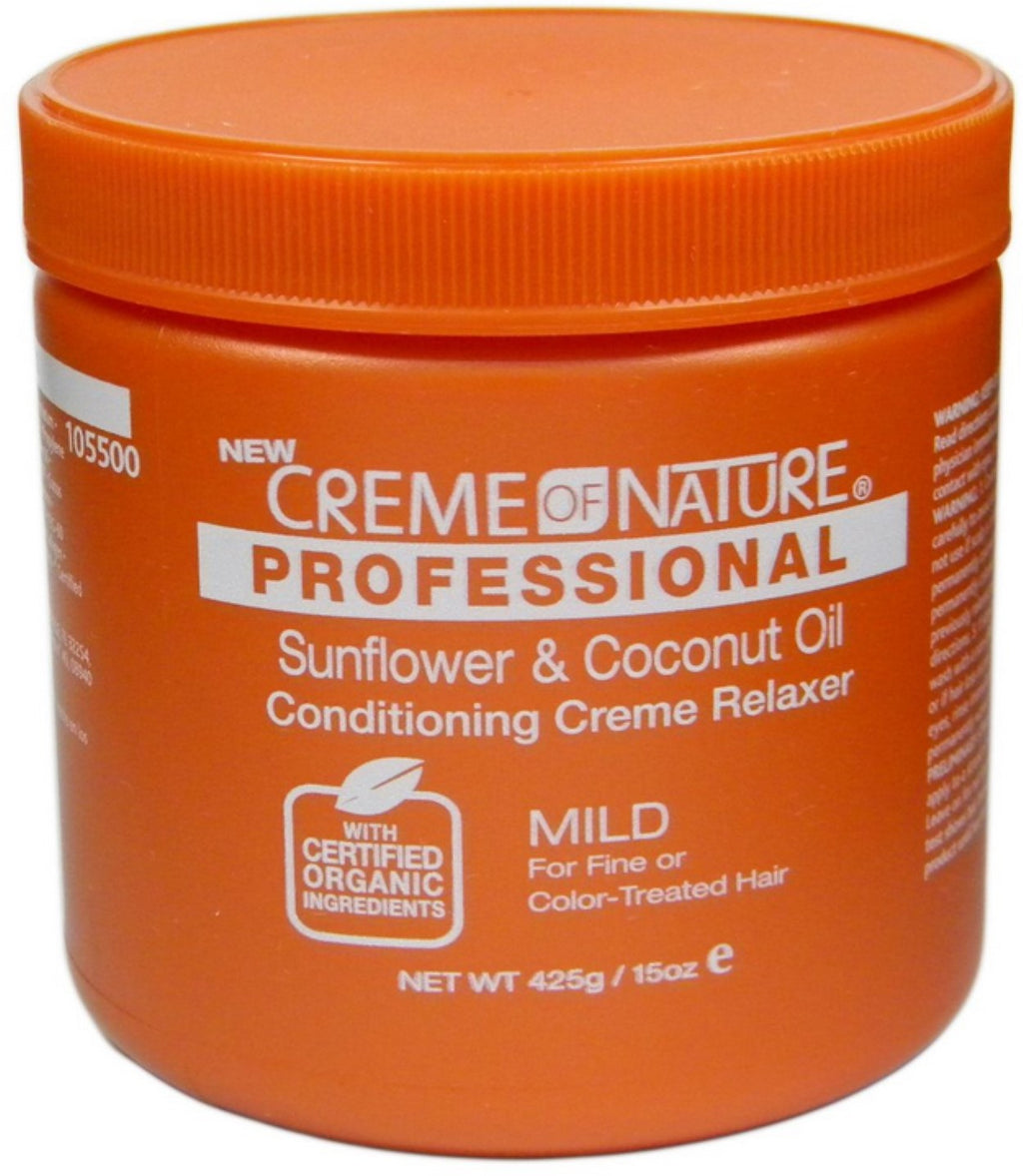 Creme Of Nature Professional Sunflower & Coconut Oil Conditioning Creme Relaxer 15 oz