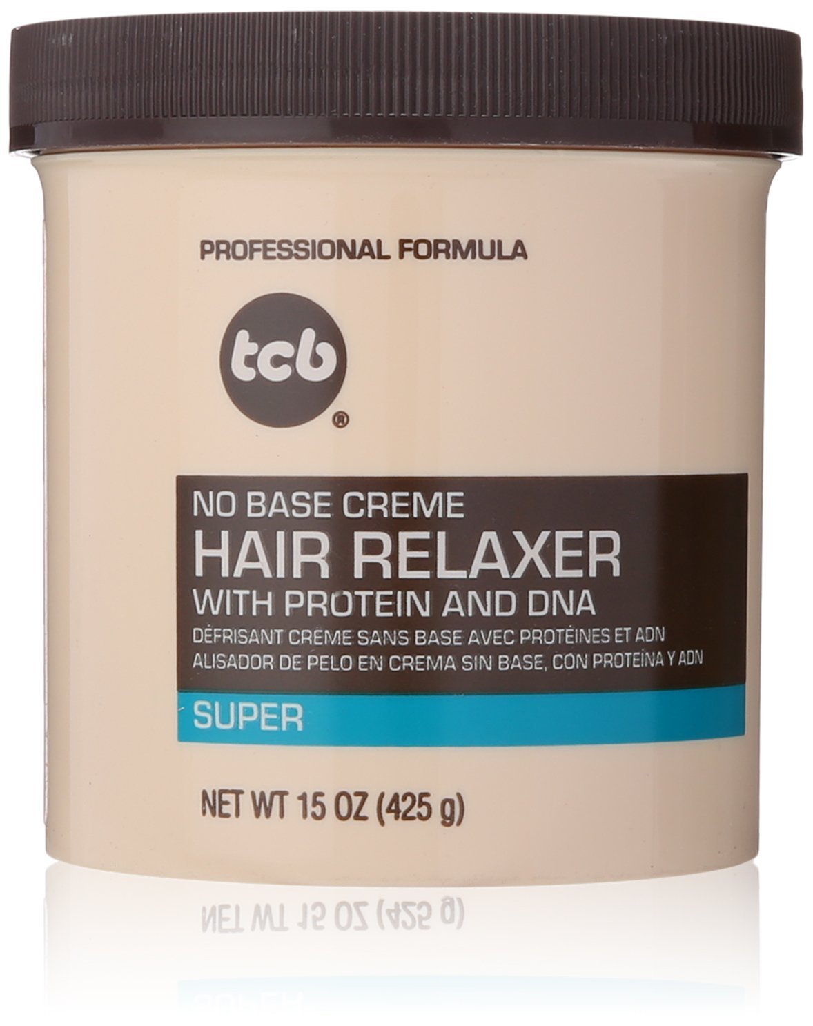 TCB- Super No Base Creme Hair Relaxer 15oz