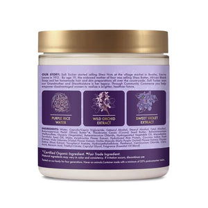 Shea Moisture - Purple Rice Water Strength & Color Care Masque 8oz