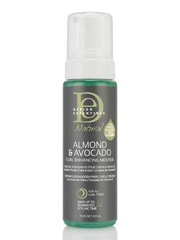 Design Essentials Natural- Almond & Advocado Curl Enhancing Mousse 7.5 oz