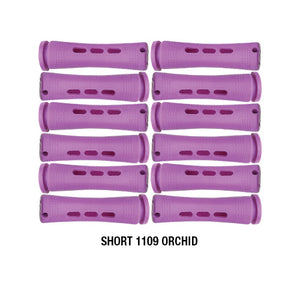 Annie Cold Wave Rods #1109 Short Orchid 12CT