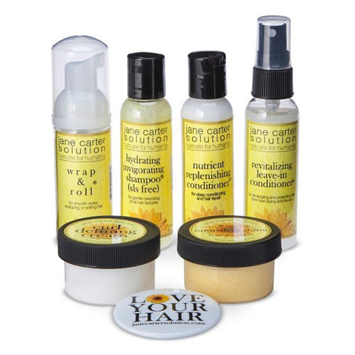 Jane Carter- Natural & Curly Hair Care Essentials Kit
