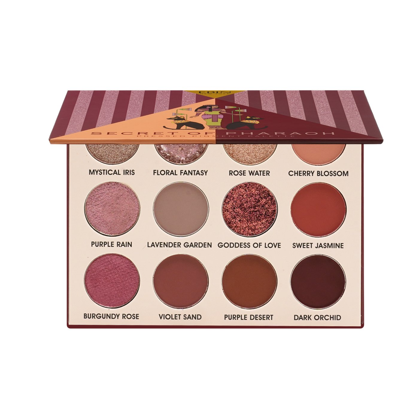 Secret of Pharaoh Pressed Pigment Palette Desert Rose