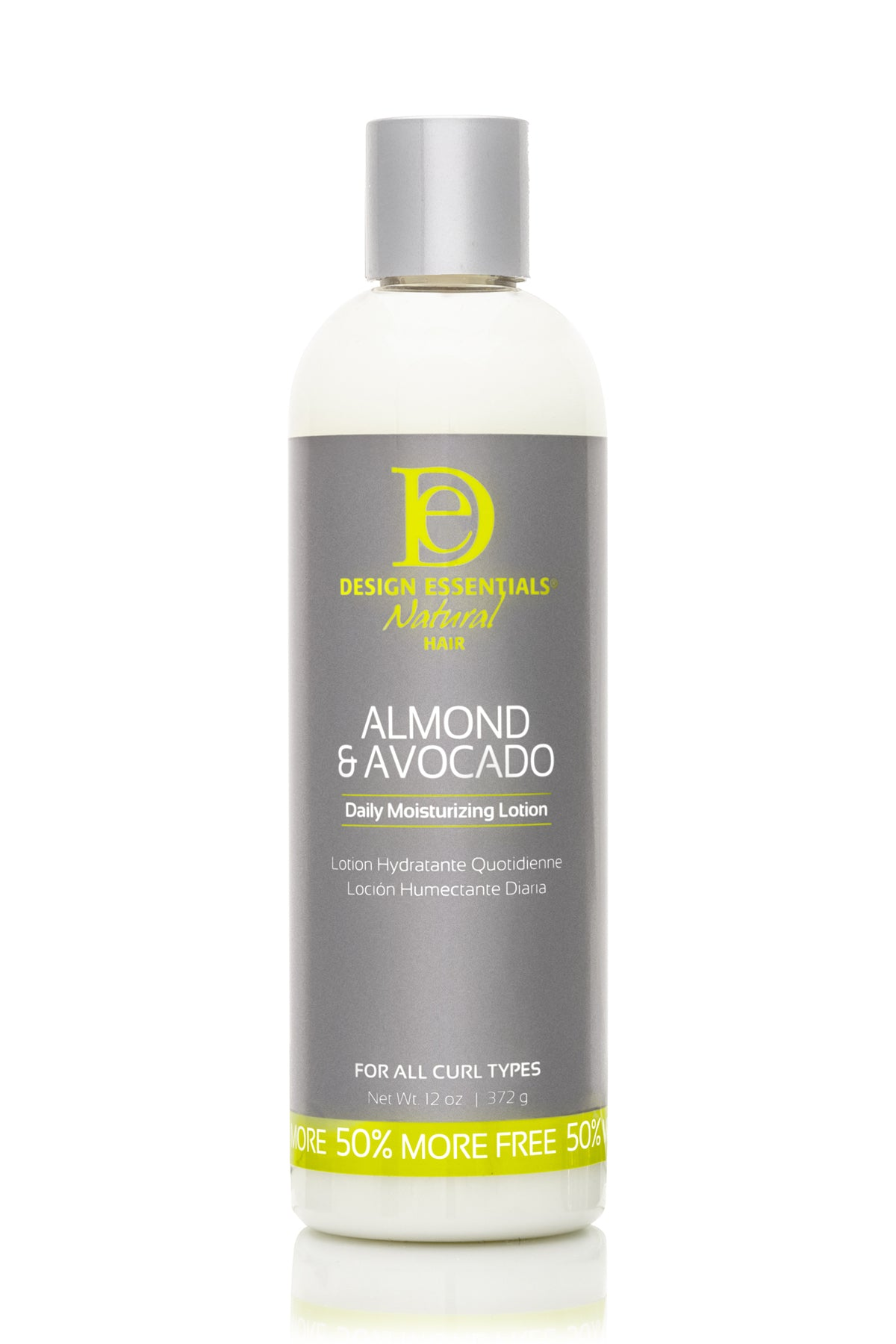 Design Essentials- Almond & Avocado Daily Moisturizing Lotion 12 oz