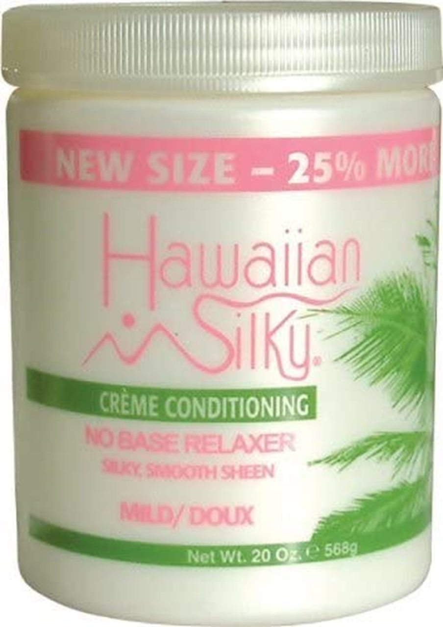 Hawaiian Silky- Creme Conditioning No Base Relaxer Mild 20oz