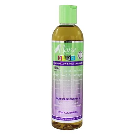The Mane Choice Baby - White Willow Bark & Cucumber Hair To Toe Moisturizing Body Wash & Shampoo