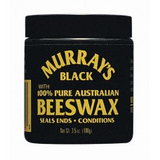 Murray's Black 100% Pure Australian Beeswax 4oz