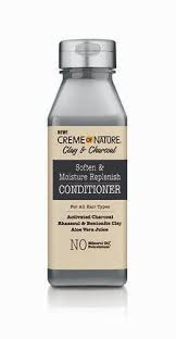 Creme Of Nature Clay & Charcoal Soften & Moisture Replenish Conditioner 12 oz