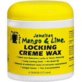 Jamaican Mango & Lime- Locking Creme Wax 6 oz