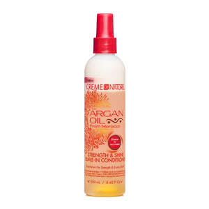 Creme Of Nature with Argan Oil Strength & Shine Leave In Conditioner 8.45 oz