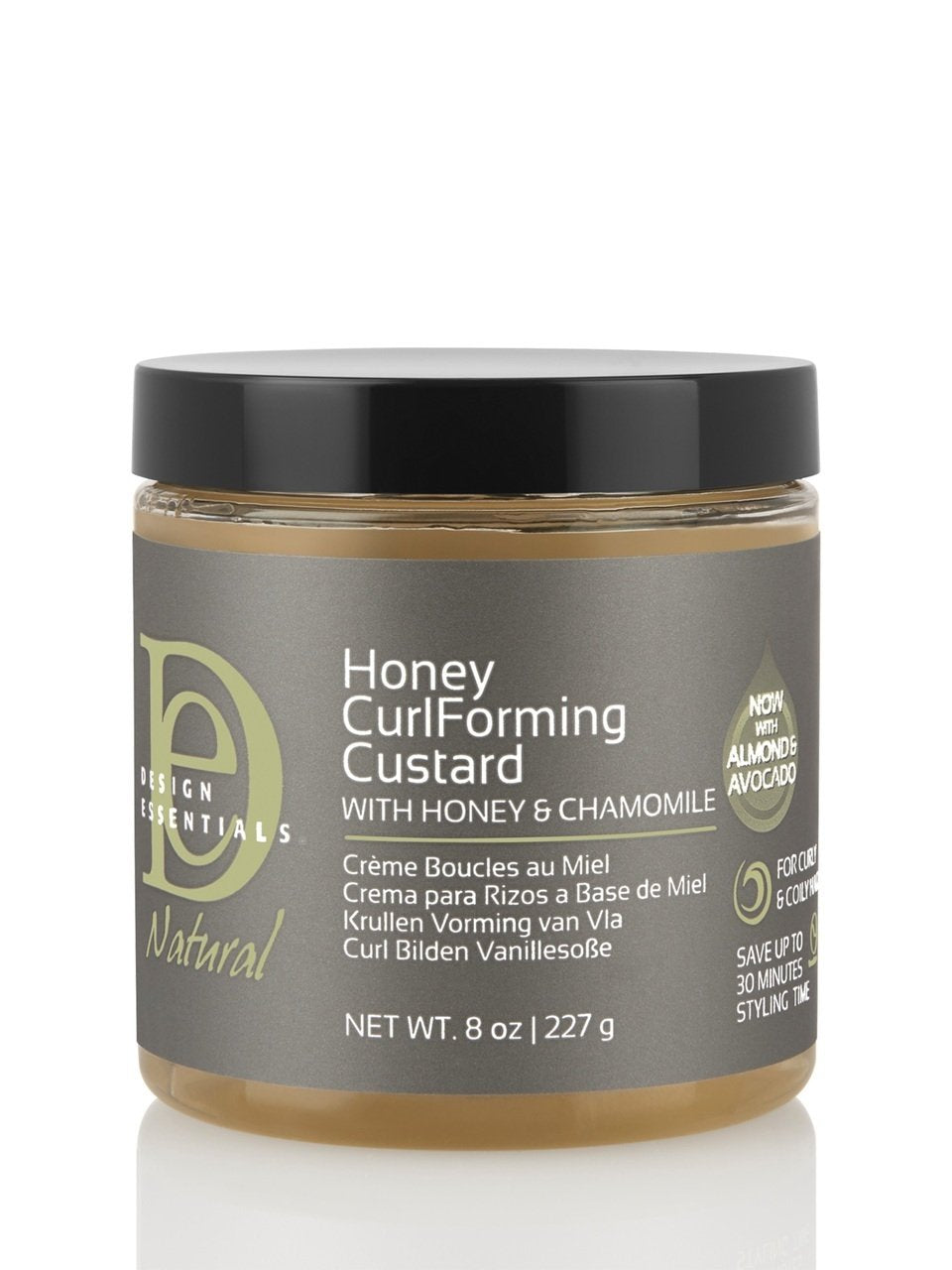 Design Essentials Natural- Honey Curl forming Custard with Honey & Chamomile 8 oz
