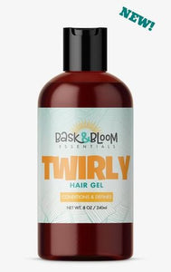 Bask & Bloom- Twirly Hair Gel 8 oz