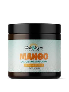 Bask & Bloom- Mango Castor Twisting Creme 8oz