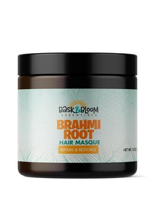 Bask & Bloom- Brahmi Root Hair Masque 12 oz