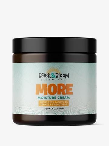Bask & Bloom- More Moisture Creme 8 oz