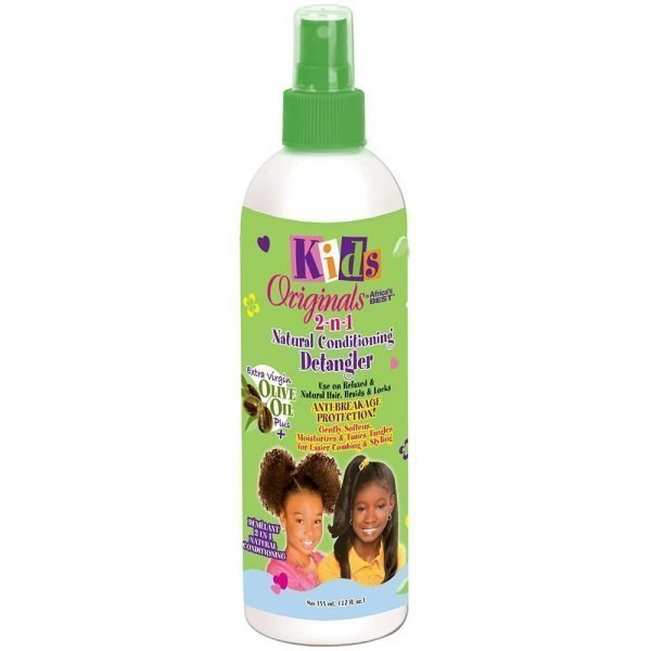 Kids Originals by Africa's Best - 2-n-1 Natural Conditioning Detangler 12oz