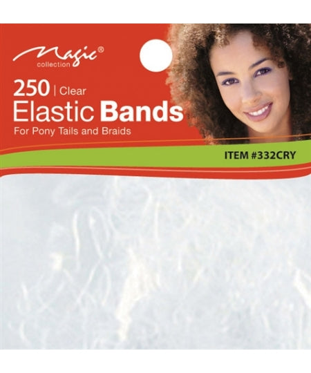 Magic Collection-Crystal Elastic Bands 250ct