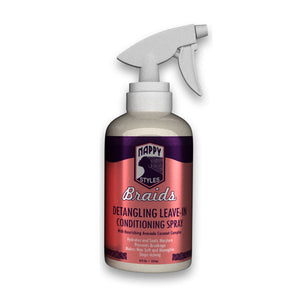 Nappy Styles Braids- Detanling Leave-In Conditioning Spray 8oz