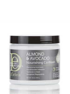 Design Essentials- Almond & Avocado Nourishing Co-Wash 16 oz