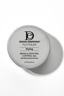 Design Essentials Platinum- Braid & Ponytail Control Gel 2.3 oz