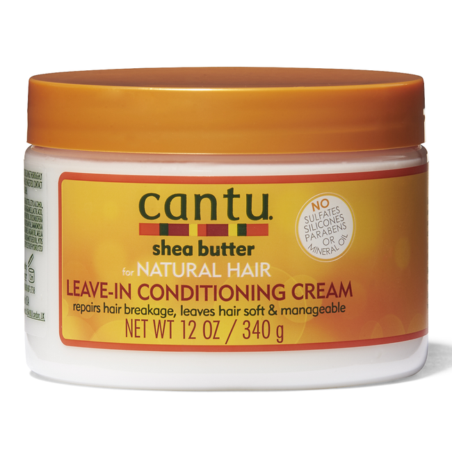 Cantu For Natural Hair Leave In Conditioning Cream 12 oz