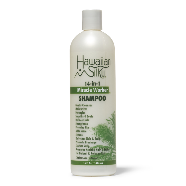 Hawaiian Silky- 14-IN-1 Miracle Worker Shampoo 16 oz