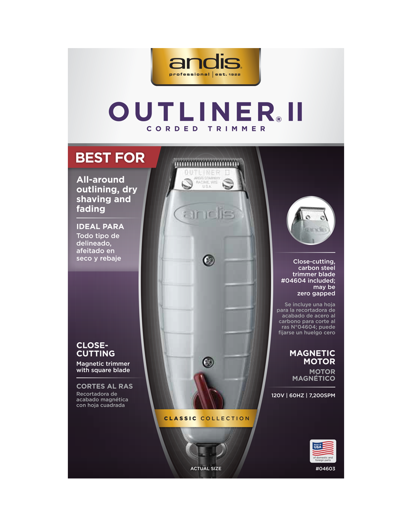Andis Professional- Outliner II Trimmer