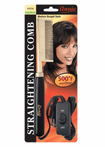 Annie Electrical Straightening Comb Med Straight #5530