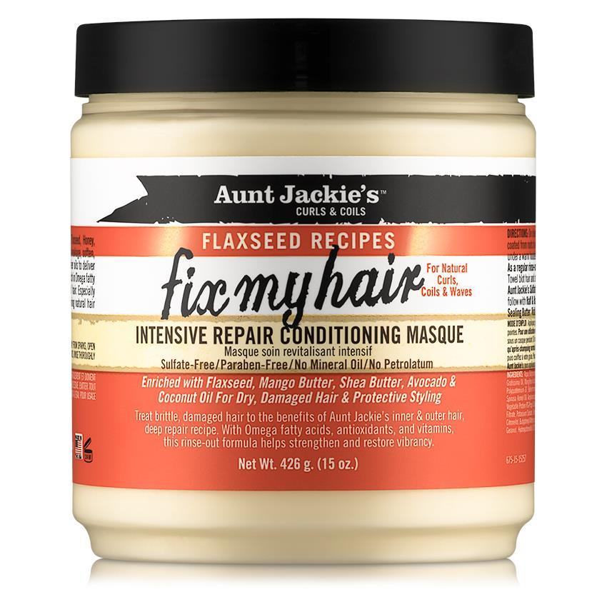 Aunt Jackie's- Curls & Coils/Flaxseed Recipes Fix My Hair 15 oz