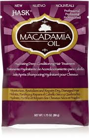 HASK Macadamia Oil- Hydrating Deep Conditioning Hair Treatment 1.75oz