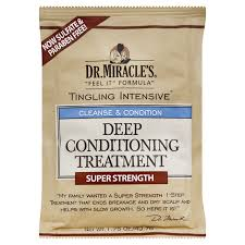 Dr. Miracle's Tingling Intensive- Deep Conditioning Treatment Super Strength 1.75oz