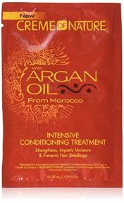 Creme Of Nature with Argan Oil Intensive Conditioning Treatment Sample Pack 1.75 oz