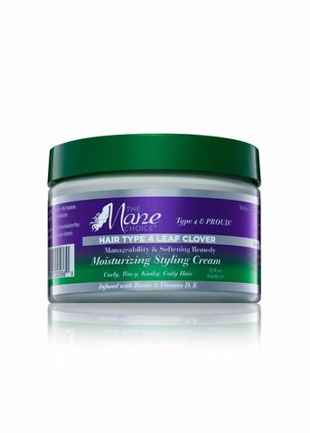 The Mane Choice- Hair Type 4 Leaf Clover Moisturizing Styling Cream 12 oz
