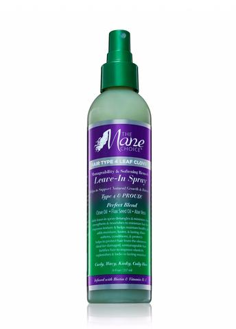 The Mane Choice- Hair Type 4 Leaf Clover Leave in Spray 8 oz