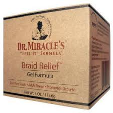 Dr. Miracle's- Braid Relief Gel Formula 4oz