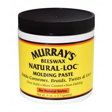 Murray's Beeswax Natural-Loc Molding Paste 6oz