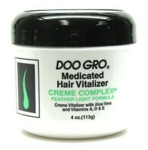 Doo Gro Medicated Hair Vitalizer- Creme Complex 4oz