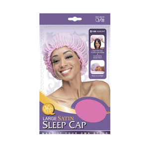 Qfitt- Large Satin Sleep Cap