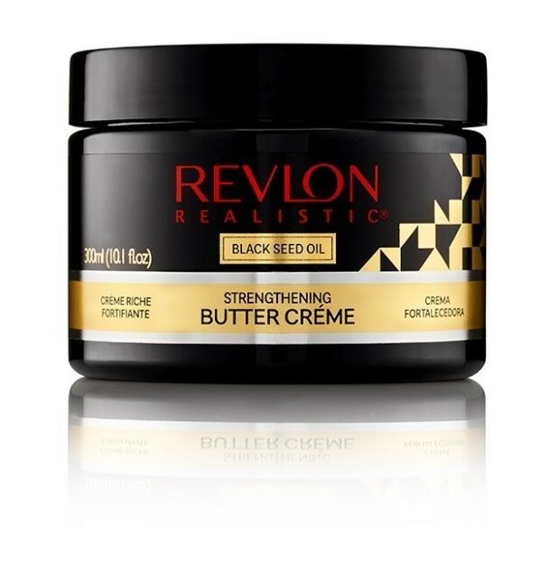 Revlon Realistic Black Seed Oil- Strengthening Butter Creme 10.1oz