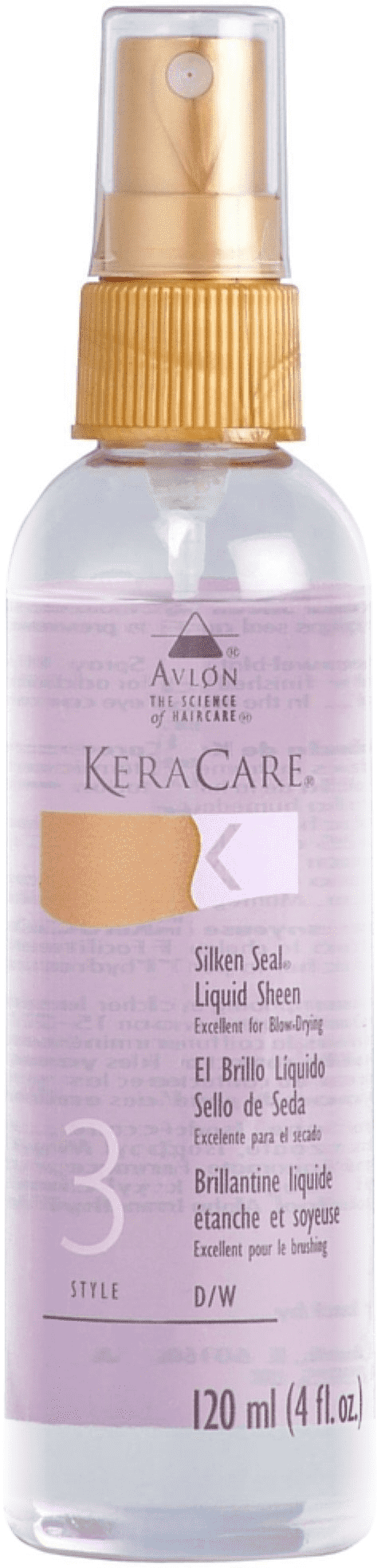 Kera Care- Silken Seal Liquid Sheen  4oz