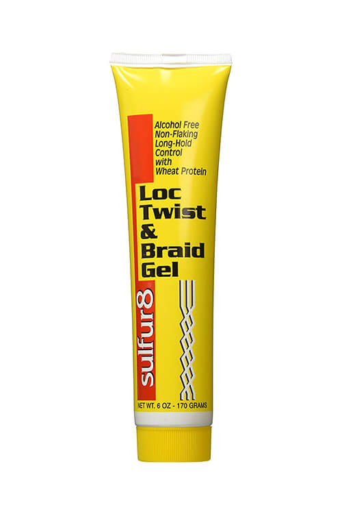 Sulfur 8- Loc Twist & Braid Gel 6oz