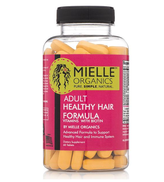 Mielle - Adult's Healthy Hair Formula Vitamins 60ct
