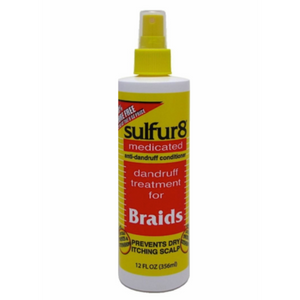 Sulfur 8- Dandruff Treatment for Braids 12oz