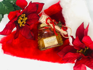 3 oz Christmas Honey Jar
