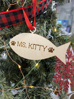 Load image into Gallery viewer, Personalized Pet Ornament