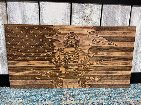 FLAG - Soldier in Red Oak