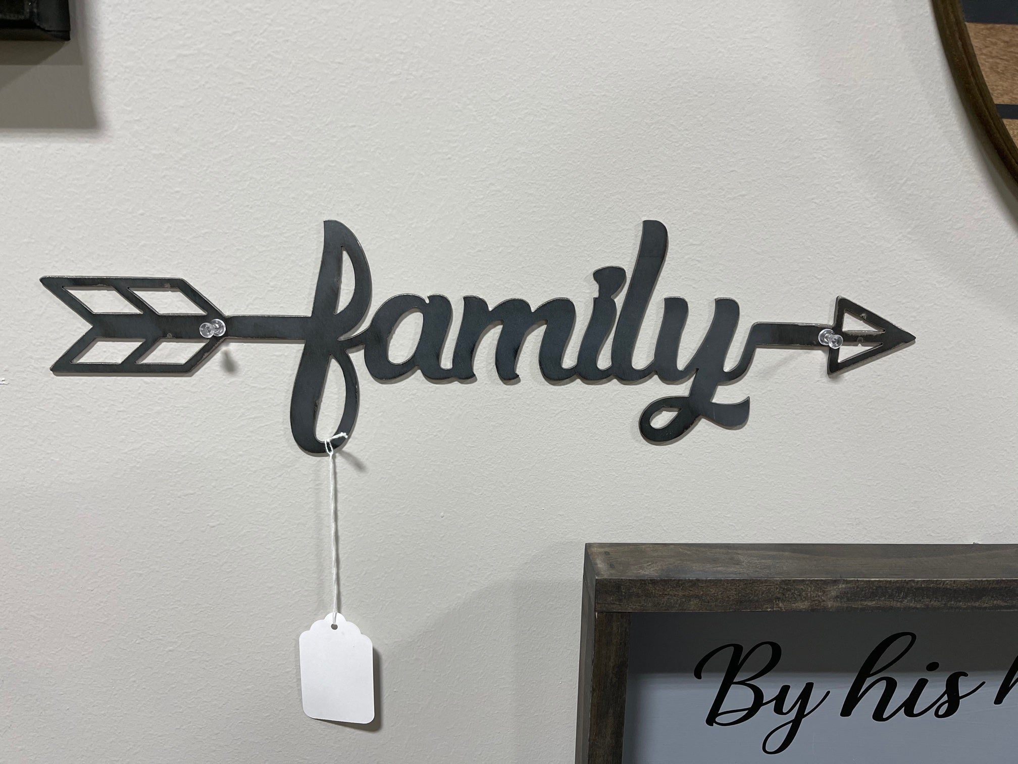 Family Metal Sign