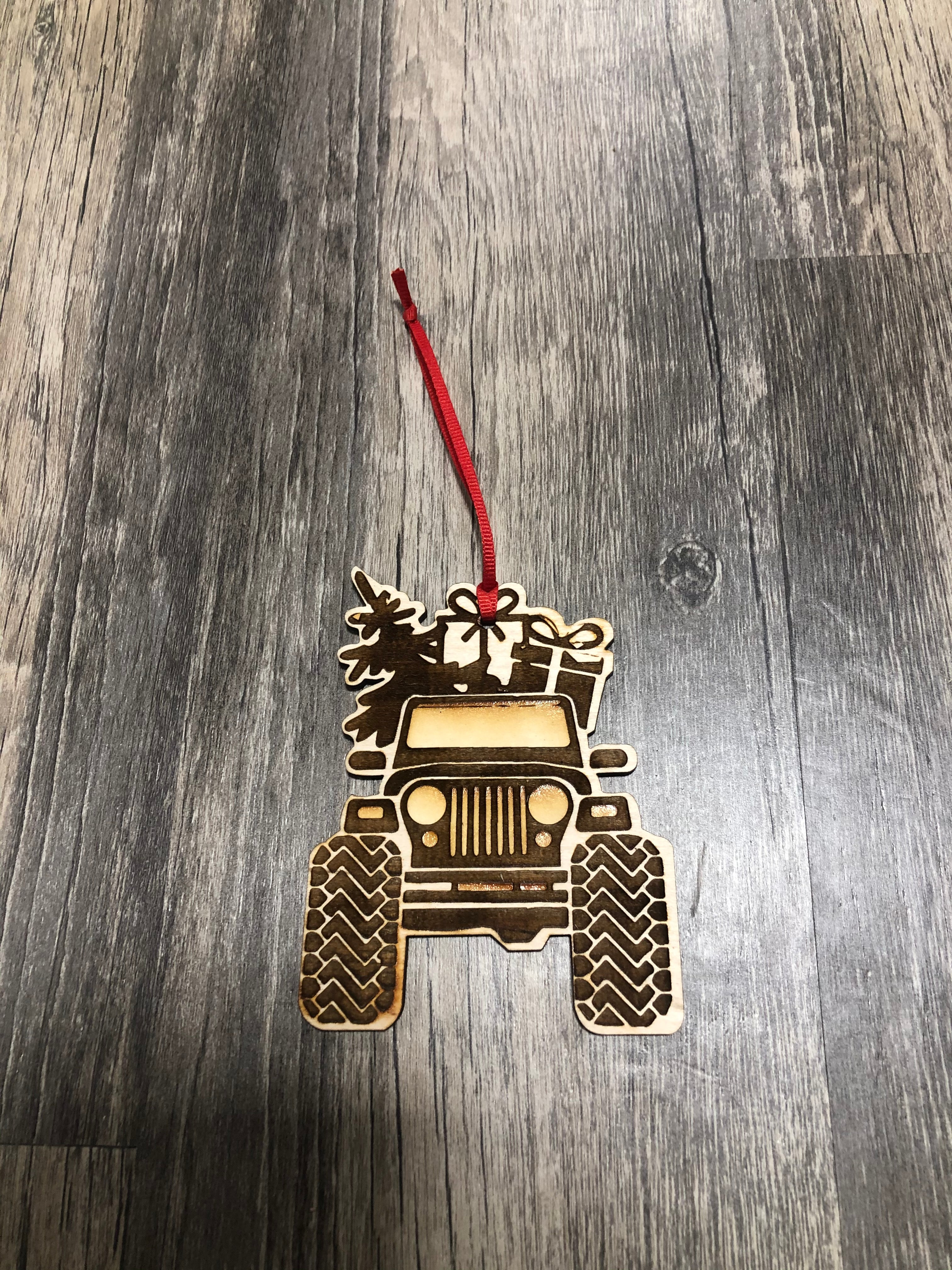 Jeep Ornament